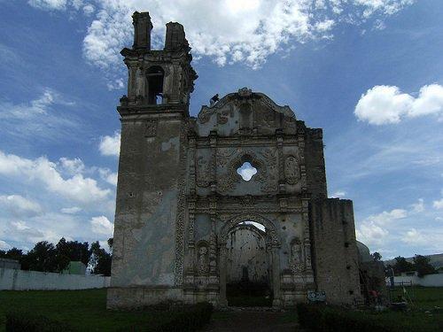 Paseo por Mexico Templo parroquial en honor a Santa María Magdalena en Quecholac