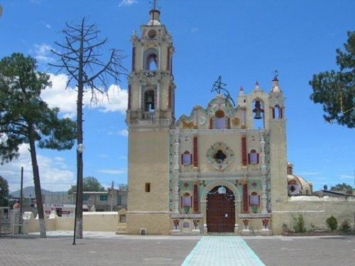 Paseo por Mexico Templo de San Simón de Bravo en Quecholac