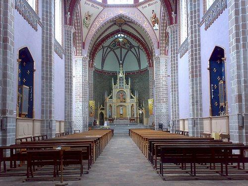 Paseo por Mexico Interior de Parroquia de San Marcos en Rafael Lara Grajales