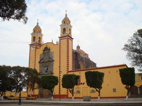 Paseo por Mexico Parroquia de San Andrés Cholula