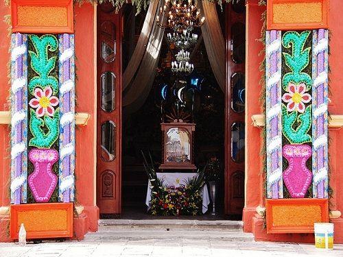 Paseo por Mexico Interior de Templo Santiago Xicotenco en San Andrés Cholula