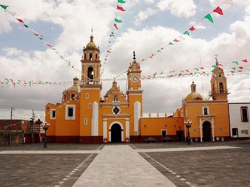 Paseo por Mexico Parroquia de San Luis en San Andrés Cholula