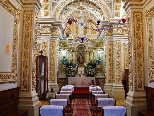 Paseo por Mexico Interior de Parroquia de San Antonio Cacalotepec en San Andrés Cholula