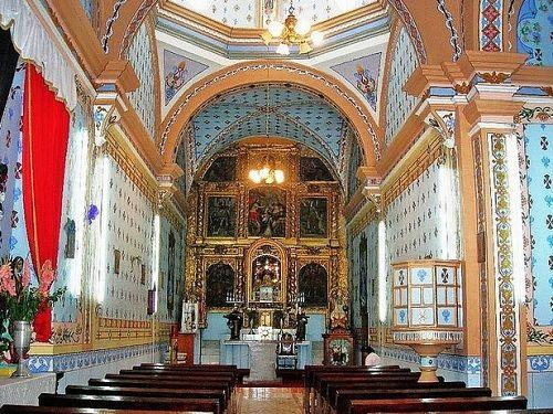 Paseo por Mexico Interior de Templo de la Santísima Trinidad en San Andrés Cholula