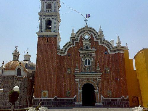 Paseo por Mexico Parroquia de San Bernadino en San Andrés Cholula
