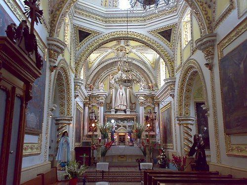 Paseo por Mexico Interior de Parroquia de San Bernadino en San Andrés Cholula