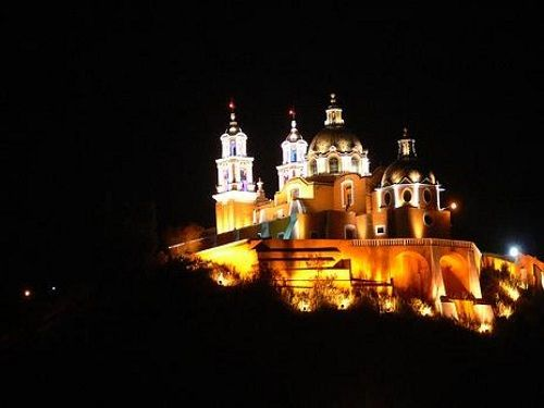 Paseo por Mexico Iglesia de los Remedios en San Andrés Cholula