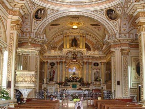 Paseo por Mexico Interior de Iglesia de los Remedios en San Andrés Cholula