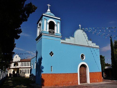 Paseo por Mexico Parroquia Nuestra Señora de Ocotlán en San Andrés Cholula