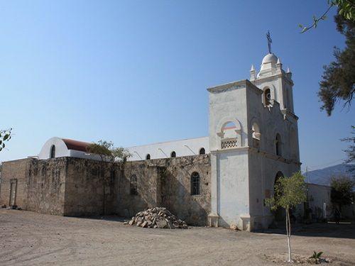 Paseo por Mexico Capilla de Guadalupe en San Gabriel Chilac