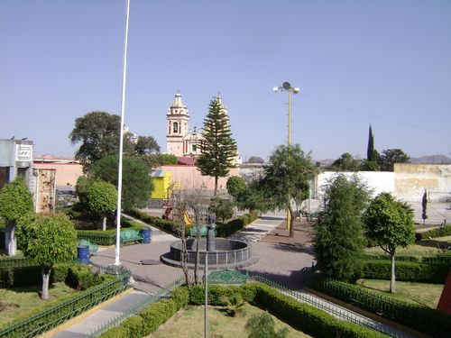 Paseo por Mexico Zócalo de San Jerónimo Tecuanipan