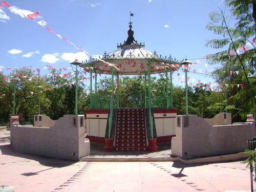 Paseo por Mexico Kiosco de San Jerónimo Xayacatlán
