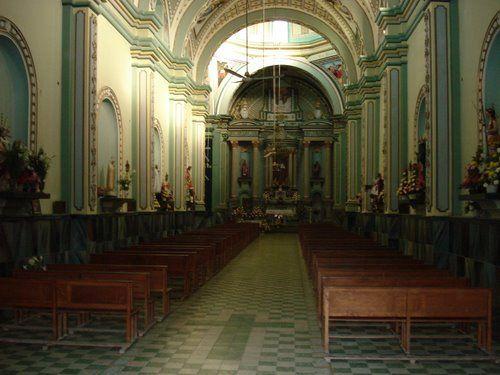 Paseo por Mexico Interior de Iglesia de San José Miahuatlán
