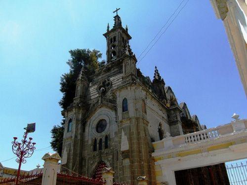 Paseo por Mexico Capilla del Carmen en San Martín Texmelucan
