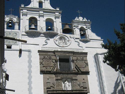 Paseo por Mexico Ex Convento de Santa Maria Magdalena en San Martín Texmelucan