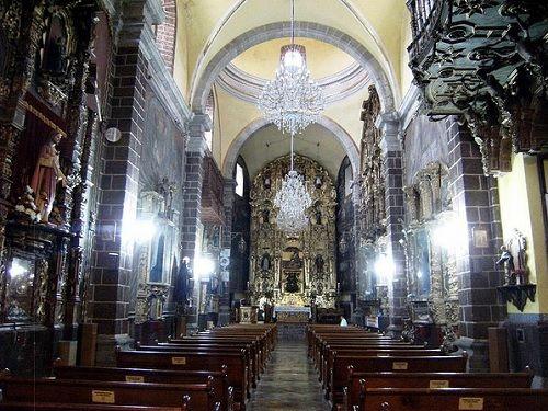 Paseo por Mexico Interior de Ex Convento de Santa Maria Magdalena en San Martín Texmelucan