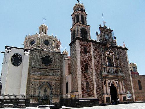 Paseo por Mexico Parroquia de San Martín Obispo de Tours en San Martín Texmelucan