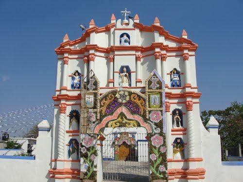 Paseo por Mexico Iglesia de San Martín Totoltepec