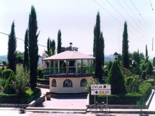Paseo por Mexico Kiosco de San Martín Totoltepec