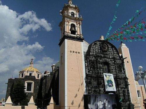 Paseo por Mexico Iglesia de San Nicolás de los Ranchos
