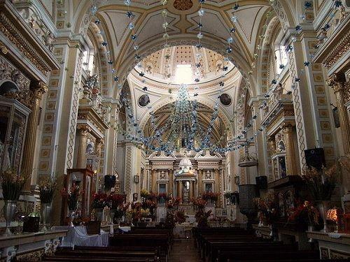 Paseo por Mexico Interior de Iglesia de San Nicolás de los Ranchos