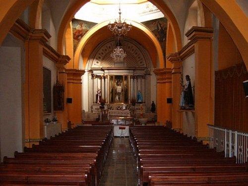 Paseo por Mexico Interior de Templo de San Pedro y San Pablo en San Pablo Anicano