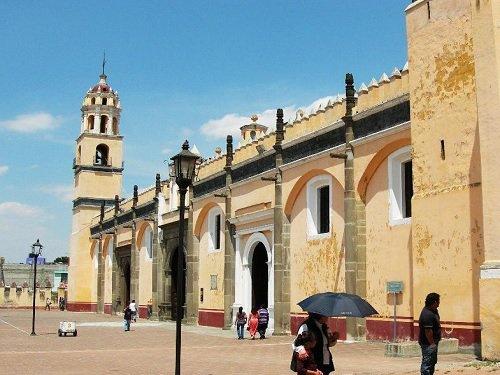 Paseo por Mexico Capilla de la Tercera Orden en San Pedro Cholula