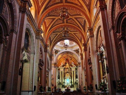 Paseo por Mexico Interior de Parroquia de San Pedro Cholula