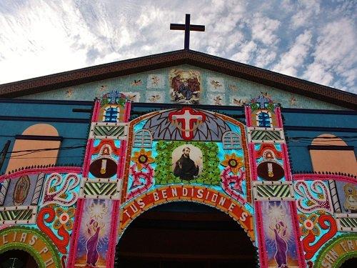 Paseo por Mexico Templo Nuevo San Francisco Coapa en San Pedro Cholula