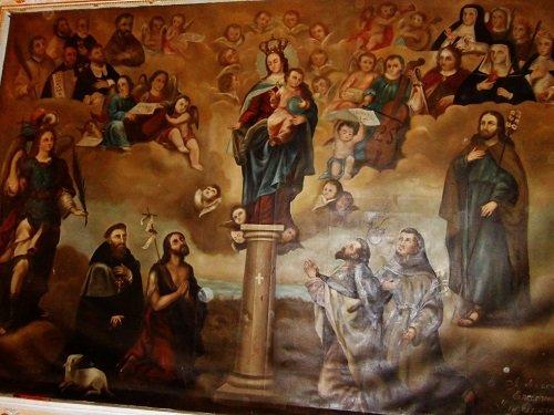 Paseo por Mexico Interior de Templo de Santiago en San Pedro Cholula