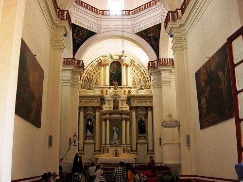 Paseo por Mexico Interior de Capilla de la Tercera Orden en San Pedro Cholula