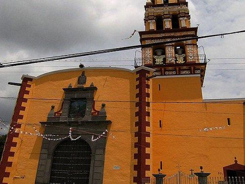 Paseo por Mexico Iglesia del Barrio de Jesús Tlatempan en San Pedro Cholula