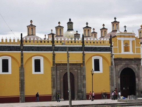 Paseo por Mexico Capilla Real o de naturales en San Pedro Cholula