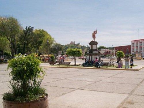Paseo por Mexico Plaza de la Concordia en San Pedro Cholula