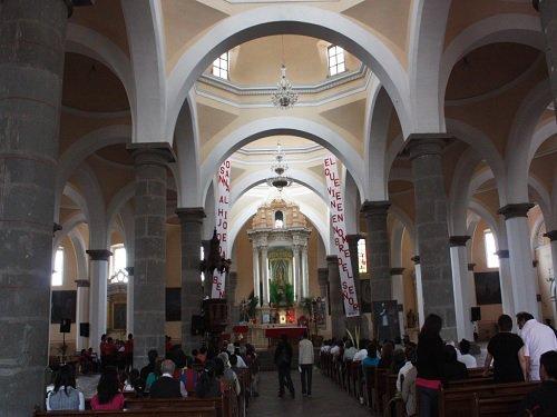 Paseo por Mexico Interior de Capilla Real o de naturales en San Pedro Cholula