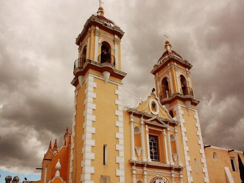 Paseo por Mexico Santuario de Nuestra Señora de Tzocuilac en San Pedro Cholula