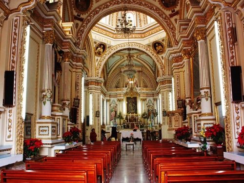 Paseo por Mexico Interior de Santuario de Nuestra Señora de Tzocuilac en San Pedro Cholula