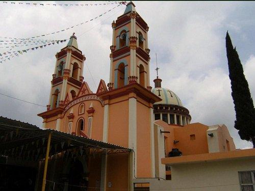 Paseo por Mexico Capilla de San Antonio de Padua en San Salvador Huixcolotla