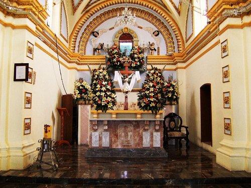 Paseo por Mexico Interior de Capilla de San Antonio de Padua en San Salvador Huixcolotla