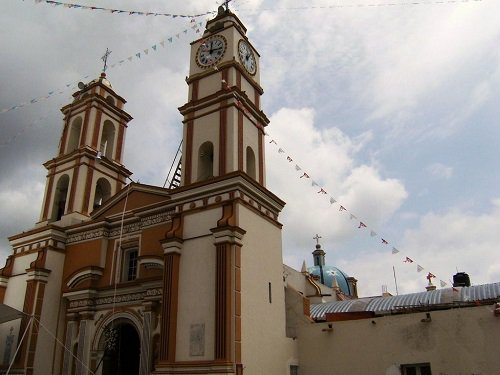 Paseo por Mexico Iglesia del Divino Salvador en San Salvador Huixcolotla