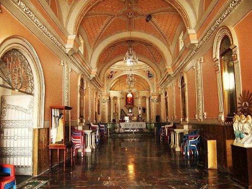 Paseo por Mexico Interior de Iglesia del Divino Salvador en San Salvador Huixcolotla