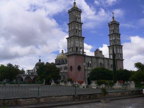 Paseo por Mexico Templo de Santa Inés Ahuatempan