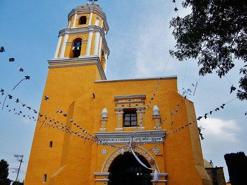Paseo por Mexico Parroquia de Santa Isabel Cholula