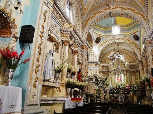Paseo por Mexico Interior de Parroquia de Santa Isabel Cholula