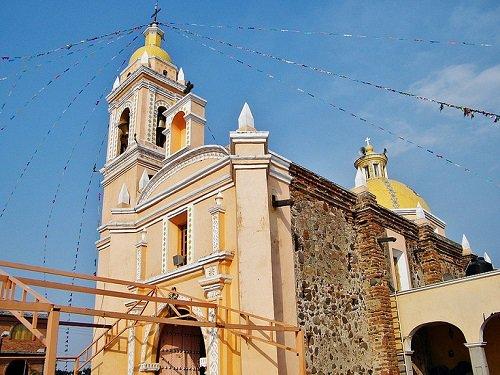Paseo por Mexico Templo de San Pablo en Santa Isabel Cholula