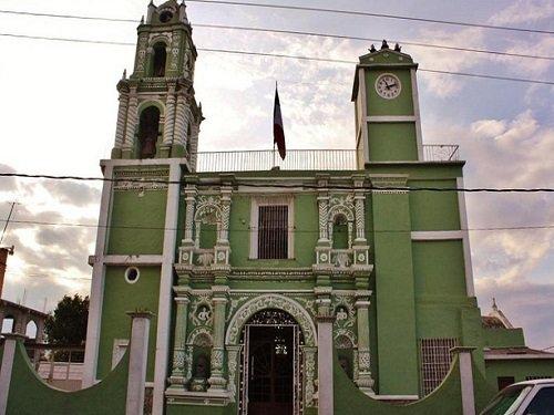 Paseo por Mexico Parroquia en honor de San Hipólito en Soltepec