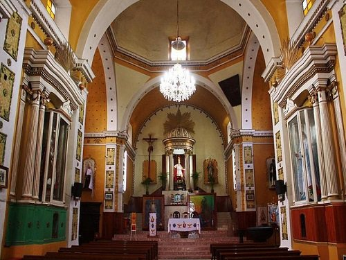 Paseo por Mexico Interior de Parroquia en honor de San Hipólito en Soltepec