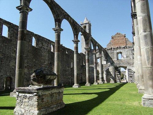 Paseo por Mexico Interior de Ex convento franciscano de Tecali de Herrera