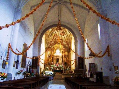 Paseo por Mexico Interior de Ex convento Franciscano de Tecamachalco