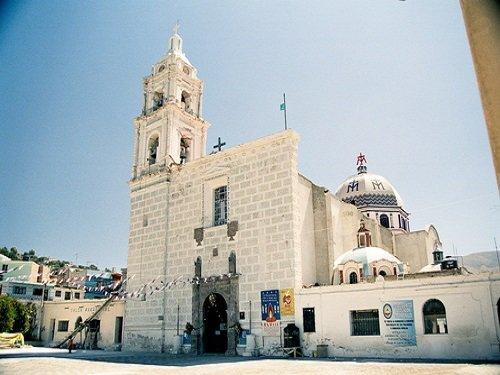 Paseo por Mexico Parroquia de Nuestra Señora de la Asunción en Tecamachalco